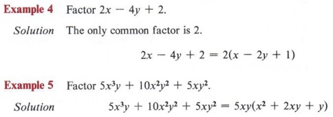 Factor a polynomial or an expression with Step-by-Step Math