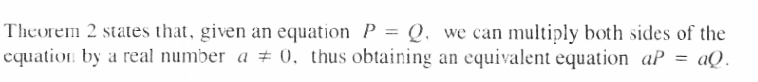 Equivalent Equation Theorem 2