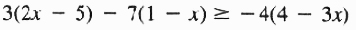 example for solution set Theorem 1