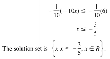 Solution for Solution set Theorem 3 equivalent inequalities