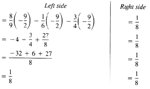 Finding the Solution set of equation
