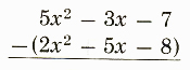 Adding and Subtracting Polynomials-1