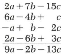 addition and subtraction of polynomials - 1